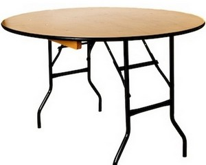 "TABLE 5ft 6"" Round (Seats 8-10 pax)"